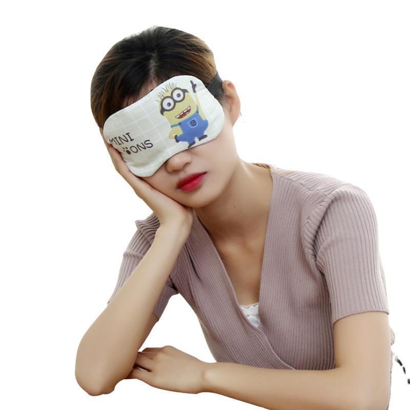 個性的なデザイン♪ デザイン感  肌に優しい 柔らかい ポリエステル アイマスク 小物